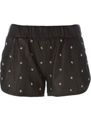 Drome Star Studded Shorts Black