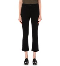 Whistles Cigarette Tapered High Rise Jeans Black