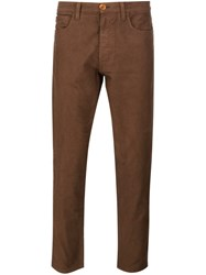 321 Slim Fit Trousers Brown