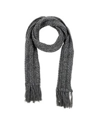 Montgomery Oblong Scarves Grey