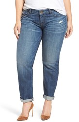 Kut From The Kloth Plus Size Women's Catherine Boyfriend Jeans