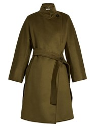 Sportmax Nurra Coat Dark Green