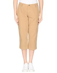 Jaggy Trousers 3 4 Length Trousers Women Khaki