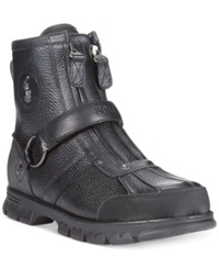 Polo Ralph Lauren Conquest Iii High Boots Men's Shoes Black