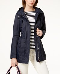 Tommy Hilfiger Hooded Anorak Jacket Navy