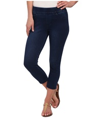 Liverpool Sienna Pull On Capris Avenged Dark Women's Capri Navy