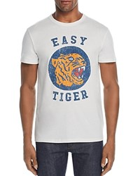 Chaser Easy Tiger Graphic Tee Salt