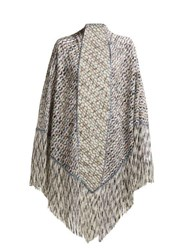 Missoni Exaggerated Fringe Scarf Black