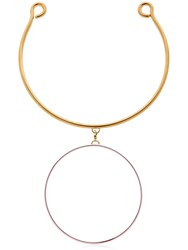 Maria Francesca Pepe Hoops I Did It Again Necklace