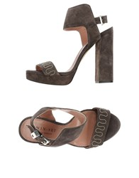 Twin Set Simona Barbieri Footwear Sandals Women Lead