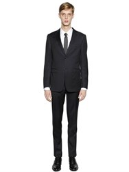 Z Zegna Virgin Wool Twill Suit
