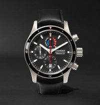 Bremont Oracle Team Usa Regatta 43Mm Titanium And Rubber Chronograph Watch Black