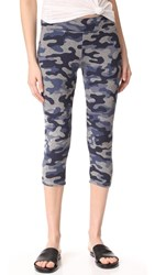 Sundry Yoga Capri Pants Heather Grey
