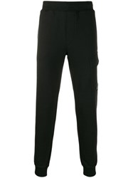 C.P. Company Cp Tapered Track Pants Black