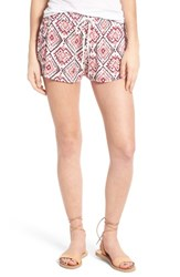 Roxy Women's Electric Mile Shorts Ikat Bali Combo Geranium