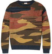 Dries Van Noten Cashmere Blend Sweater Yellow