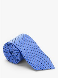 Eton Square Silk Tie Blue