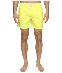 2Xist Hampton Lemon Tonic New Men's Swimwear Yellow