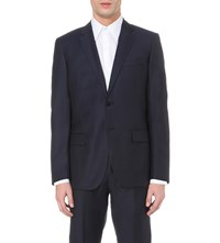 Reiss Harry Modern Fit Wool Jacket Navy