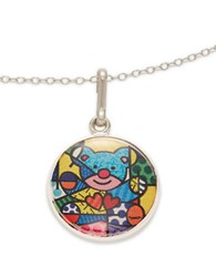 Alex And Ani Friendship Bear Art Infusion Necklace Charm Silver