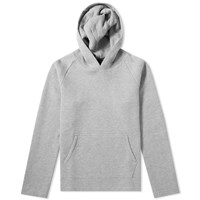 Wings Horns Vented Double Knit Pullover Hoody Grey