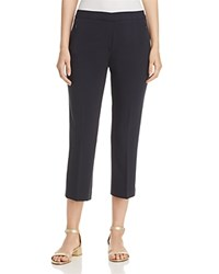 T Tahari Harper Cropped Pants True Navy