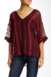 Zoa Embroidered Silk Tunic