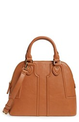 Sole Society 'Marlow' Structured Faux Leather Dome Satchel