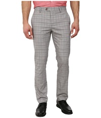 Ted Baker Havtro Check Trousers Natural Men's Casual Pants Beige