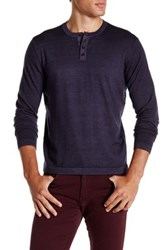 Zachary Prell Knightsbridge Wool Sweater Purple