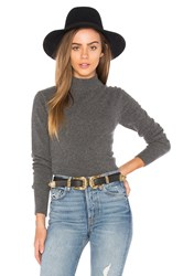 G Star Mock Neck Sweater Gray