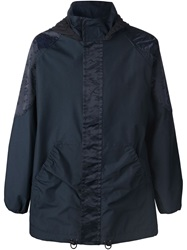 Julien David Hooded Jacket Blue