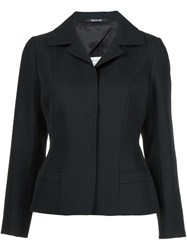 Maison Martin Margiela Fitted Blazer Black