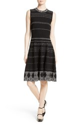 Kate Spade Women's New York Texture Knit Fit And Flare Dress