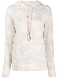 Zadig And Voltaire Nea Camouflage Patterned Hoodie 60