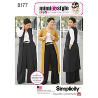 Simplicity Mimi G Style Women's Trousers And Coat Sewing Pattern 8177