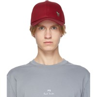 Paul Smith Ps By Red Zebra Baseball Cap