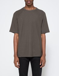 Topman Washed Black Textured Oversized T Shirt