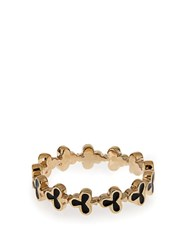Alison Lou Enamel And Yellow Gold Club Ring