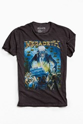 Urban Outfitters Megadeth Tee Black
