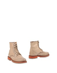 Hush Puppies Ankle Boots Beige