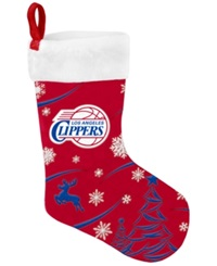 Forever Collectibles Los Angeles Clippers Team Stocking Red