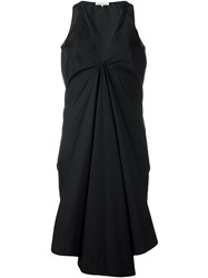 Stefano Mortari V Neck Dress Black