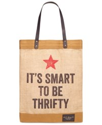 Macy's Vintage Thrifty Tote Only At Natural