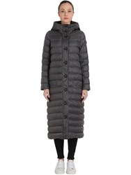 Peuterey Mauria Hooded Long Puffer Jacket