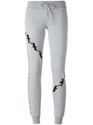 Philipp Plein 'Lutherie' Track Pants Grey