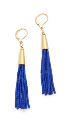 Shashi Heidi Earrings Cobalt