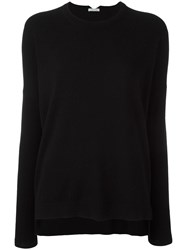Malo Crew Neck Jumper Black