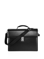 Montblanc Leather Briefcase Black