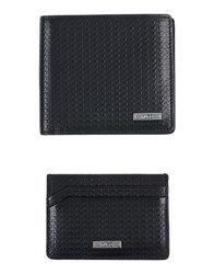 Hugo Wallets Black